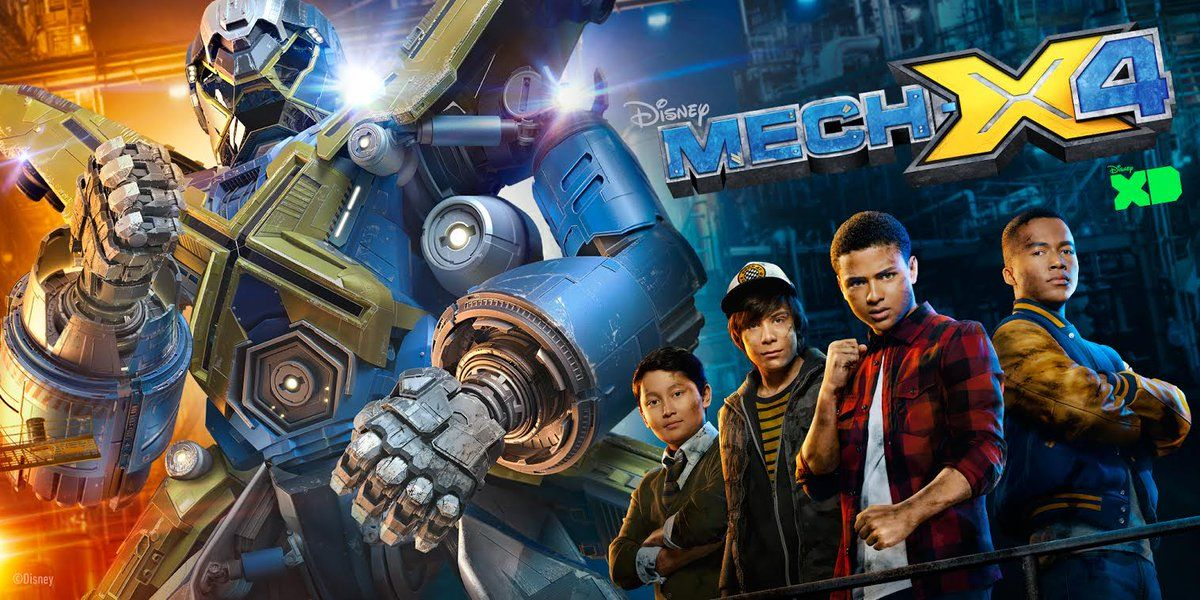 ���� - Disney XD has officially renewed MECH-X4 for season 2