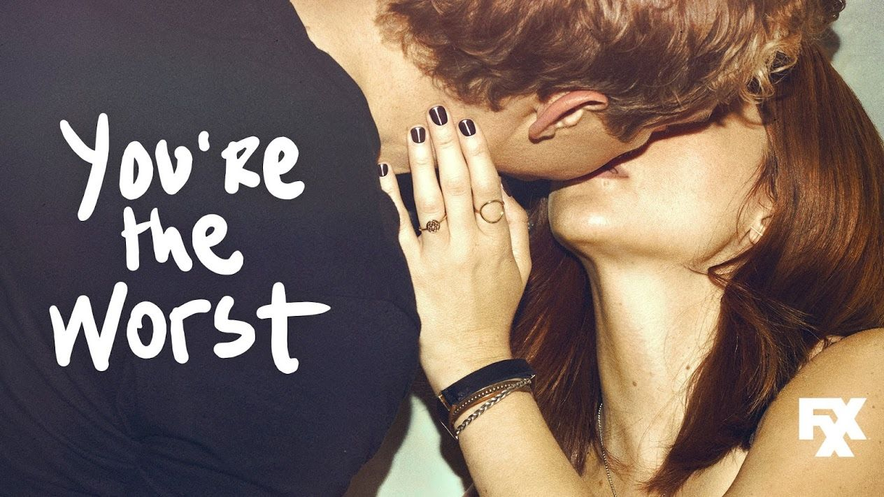 Youre the Worst TV show on FXX: season 3 | Youre the